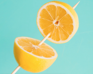 "You can ""re-seal"" a lemon with a toothpick or cocktail stick"