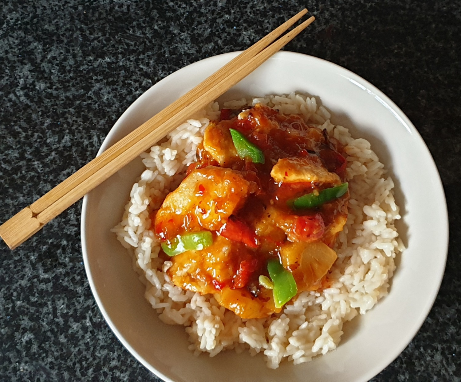 One pot Sweet and Sour Chicken