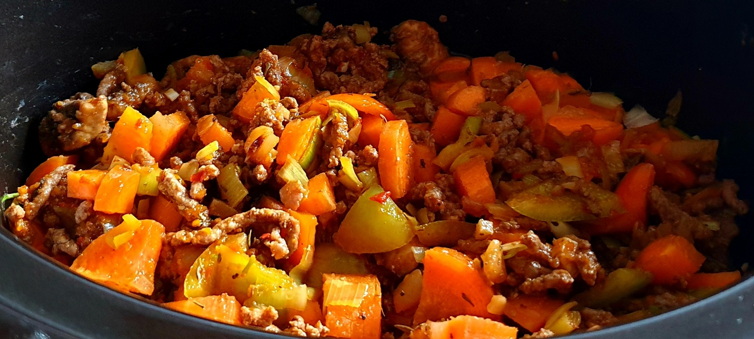 Slow Cooker Mince